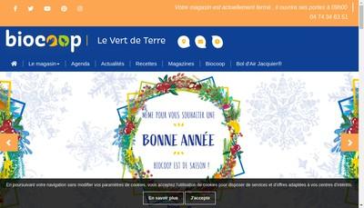 Site internet de Biodemo