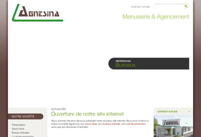 Capture d'écran du site de Bio Form