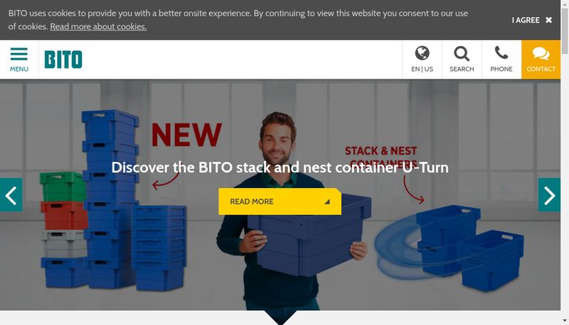 Capture d'écran du site de Bito Systemes