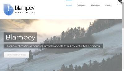 Site internet de Blampey SAS