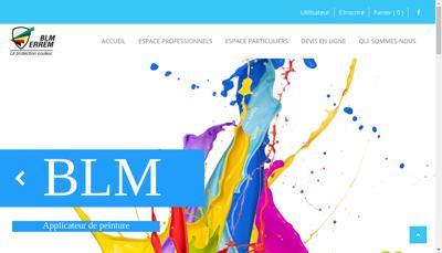 Capture d'écran du site de Blm Errem
