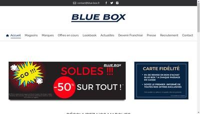Site internet de Blue Box