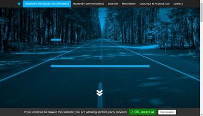 Site internet de Blueroad
