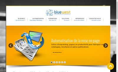 Site internet de Bluewest