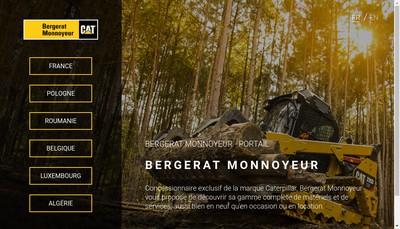 Site internet de Bergerat Monnoyeur
