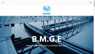 Site internet de BMGE