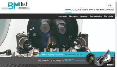 Site internet de Bmtech