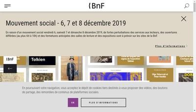 Site internet de Bnf - Partenariats