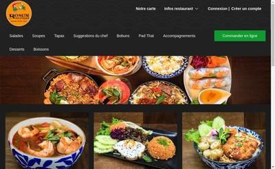 Site internet de Bobun Boulevard