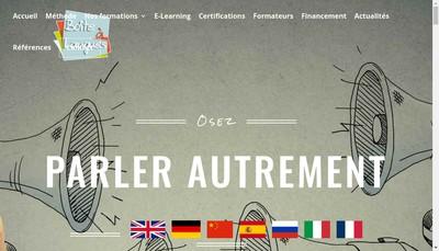 Site internet de Boites a Langues