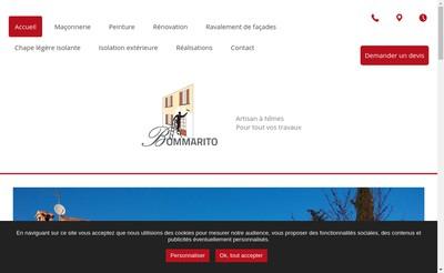 Site internet de Sylvestre Bommarito
