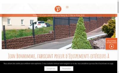 Site internet de Etablissements Jean Bonhomme