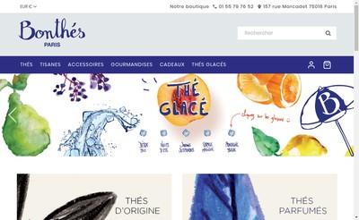 Site internet de Bonthes et Accessoires