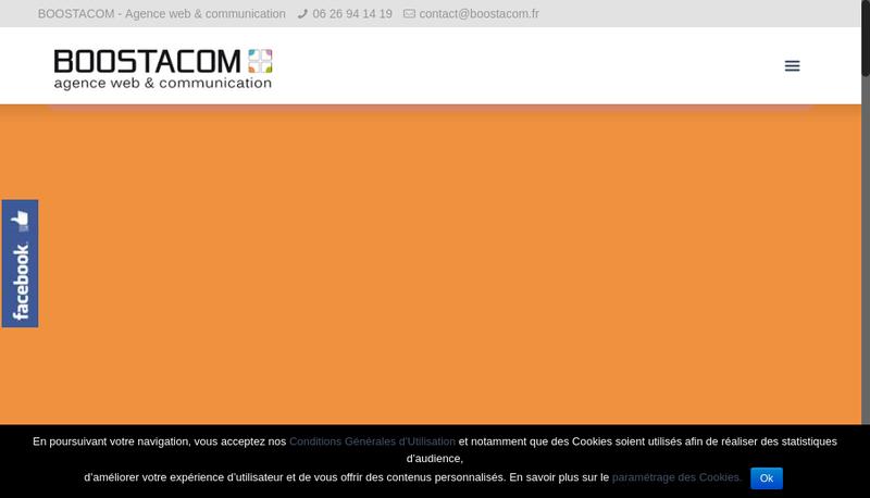 Capture d'écran du site de Tritop
