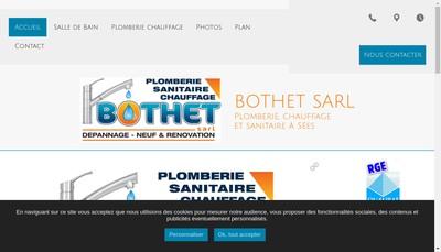 Site internet de SARL Bothet