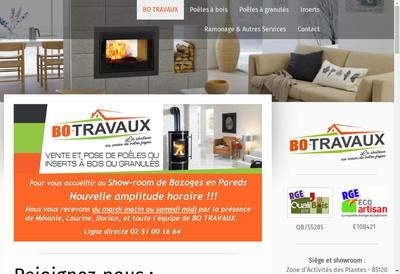 Site internet de Bo Travaux