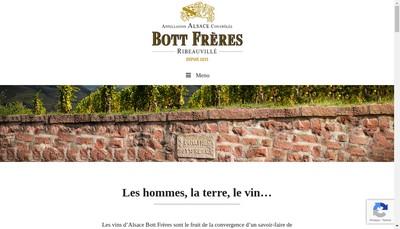 Site internet de Paul Bott -Bott Pere et Fils
