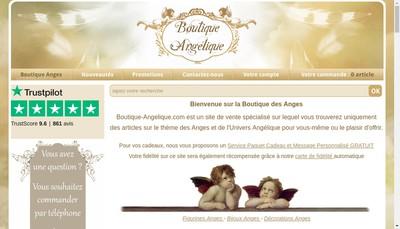 Site internet de Boutique Angelique