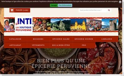 Site internet de Inti - Inti Peru - Inti Perou
