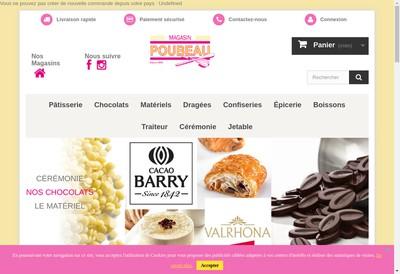 Site internet de Magasin Poubeau