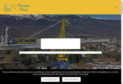 Site internet de Bovagne Freres