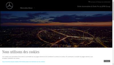 Capture d'écran du site de Sami Aquitaine