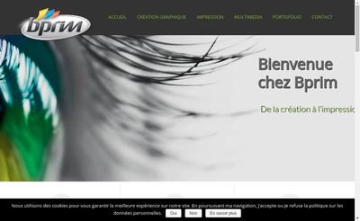 Site internet de B'Prim