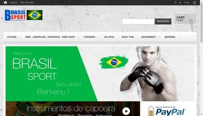 Site internet de Brasil Sport