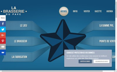 Site internet de Brasserie du Pave