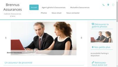 Site internet de Brennus Assurances