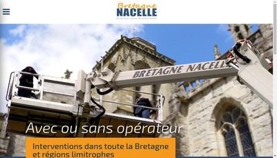 Site internet de Bretagne Nacelle SNC