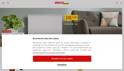 Site internet de Bricomarche