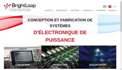 Site internet de Brightloop