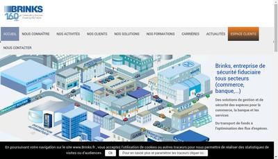 Site internet de Brink'S