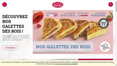 Site internet de La Brioche Doree le Fournil de Pierre
