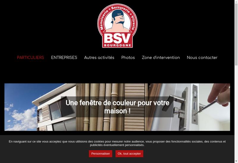 Capture d'écran du site de Bsv Bourgogne