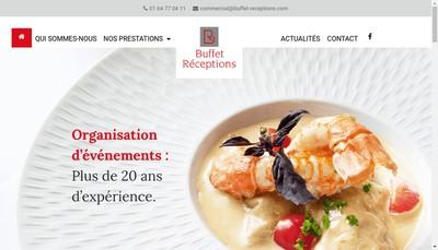 Site internet de Buffet et Receptions