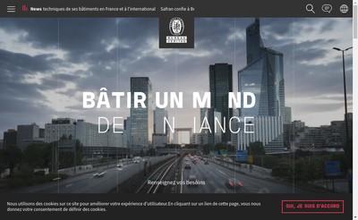 Site internet de Bureau Veritas