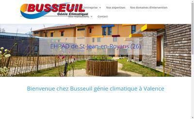 Site internet de Busseuil SA