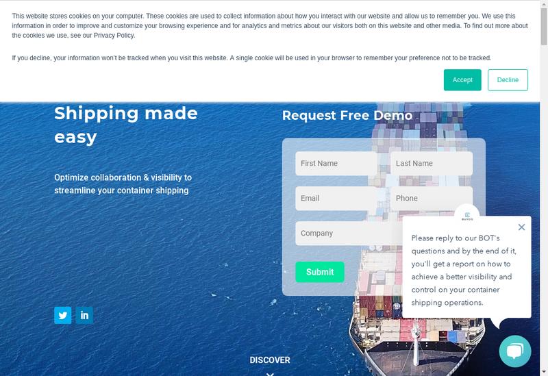 Capture d'écran du site de Buyco
