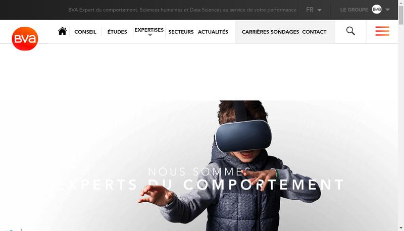 Capture d'écran du site de Inference Operations