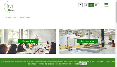 Site internet de Bureau de Verifications Techniques