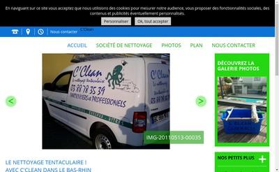 Site internet de C'Clean