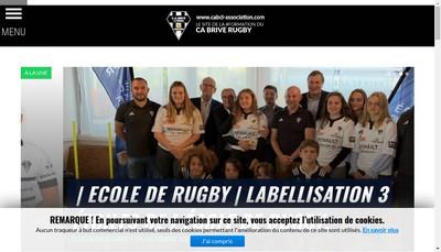 Site internet de Club Athletique Briviste Correze Limousin