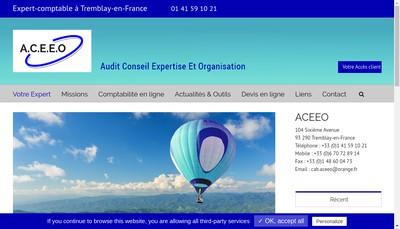Site internet de Aceeo