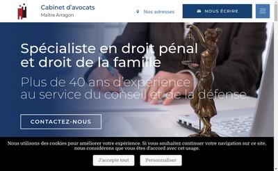 Site internet de Francis Arragon
