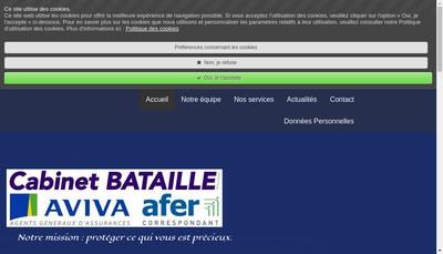 Site internet de Cabinet Bataille