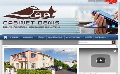 Site internet de Cabinet Denis