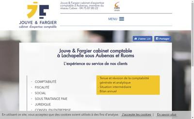 Site internet de Jouve Fargier