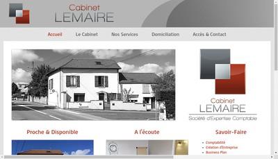 Site internet de Cabinet Lemaire